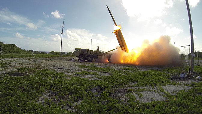 1 - США испытают систему ПРО THAAD