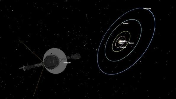 oyadzher 595x335 - «Вояджеру 1», который  улетел за пределы Солнечной системы, исполнилось 40 лет.