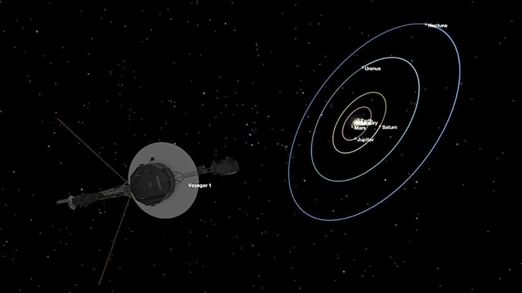 oyadzher - «Вояджеру 1», который  улетел за пределы Солнечной системы, исполнилось 40 лет.