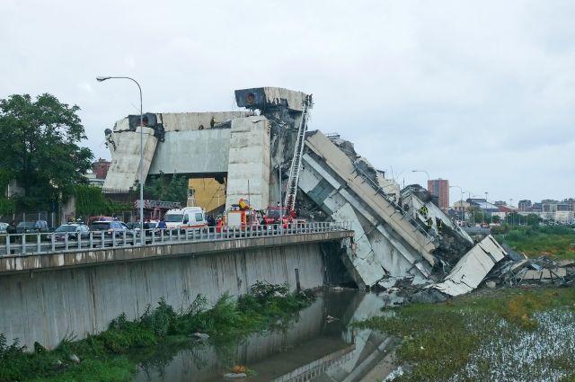 bfd4ba91d7d42b357f2173b581a71c18 - Число жертв обрушения моста в Генуе возросло до 37 человек